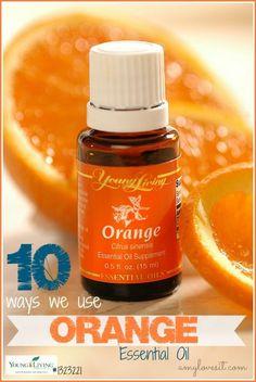 10 Uses-for-Orange-Essential-Oil: