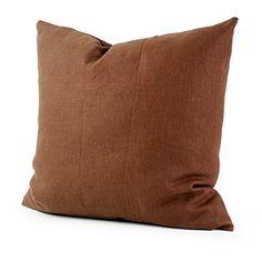 Lavievert Hemp Cotton Pillow Cover Brown Pillow Throw Pillow Pillow Cover Cushion Cover Hidden Zipper Closure 20x20 Inches 1426-03 Lavievert http://www.amazon.co.uk/dp/B00B5RB0S8/ref=cm_sw_r_pi_dp_.TEUvb1JWCB8J