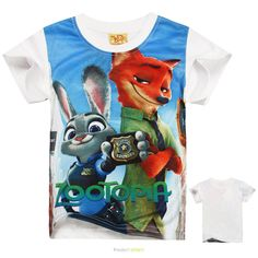 >> Click to Buy << 2016 New Zootopia T-shirt Kids Clothes Boys T Shirt Children Clothing Zootopia Clothes Girls Tops Summer Boys Short Sleeve Tees #Affiliate