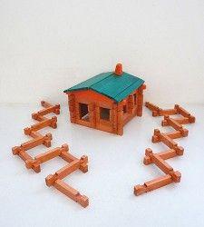 log cabin building set.