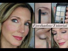 """Eyelid Lift"" Eyeshadow Tutorial for Mature Hooded Eyes"