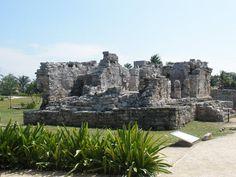 Ruin in Tolum, Mexico