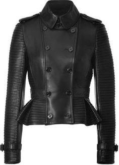shopstyle.com: Burberry London Leather Headington Jacket in Black