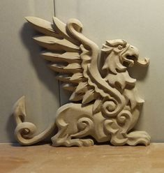 (20) Одноклассники Diy Wooden Projects, Wooden Diy, Stone Carving, Wood Carving, Chip Carving, Doorstop, Abstract Sculpture, Mythical Creatures, Dragons
