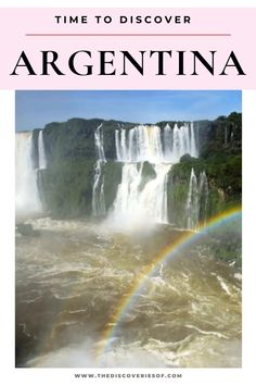 Unmissable Argentina travel destinations for your South America bucket list. From Patagonia to Iguazu Falls, Mendoza and Salta, these are the most awesome places in Argentina to soak up the culture, food and art of this gorgeous country. Read now #traveldestinations #argentina #southamerica South America Destinations, Travel Destinations, Travel Tips, Stuff To Do, Things To Do, Iguazu Falls, Argentina Travel, Mendoza, Niagara Falls