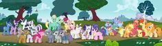 Family of My Little Pony! My Little Pony List, My Little Pony Pictures, My Little Pony Friendship, Fluttershy, Mlp, Manado, Pear Butter, Butter Pie, Kid Outfits