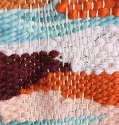 Weaving, texture, pattern, color.  So gorgeous.