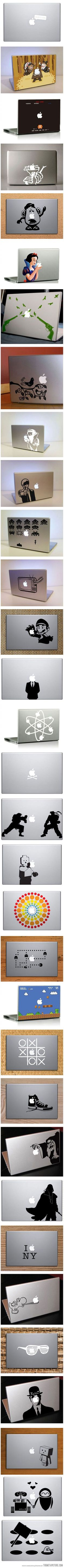 Great MacBook decals. Now all I need is a MacBook...