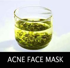 homemade acne face mask recipe