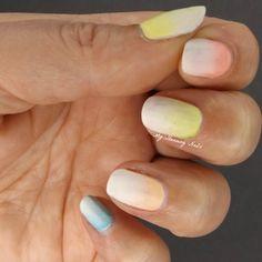 Nail Art Ombre Paste