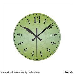 Haunted 13th Hour Clock