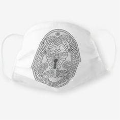 Cloth Mask ANCIENT FUTURE black Time Travel, One Size Fits All, Snug Fit, Sensitive Skin, First Love, Masks, Baseball Hats, Dragon, Future