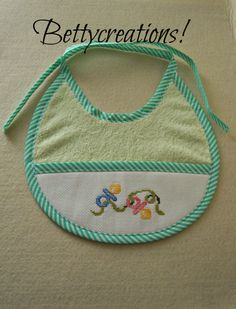 healthy breakfast ideas for kids age 9 to make 3 12 11 Cross Stitch Baby, Cross Stitch Patterns, Baby Patterns, Baby Bibs, New Baby Products, Stamp, Embroidery, Sewing, Mini
