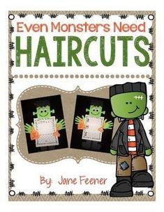 Even Monsters Need Haircuts Writing Activity Retelling Activities, Fun Fall Activities, Halloween Activities, Writing Activities, Halloween Party Supplies, Cute Halloween Costumes, Halloween Ideas, Spooky Halloween, Happy Halloween