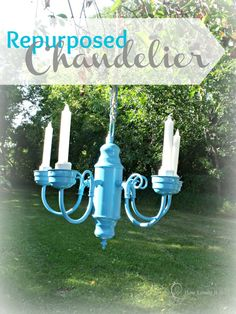 Repurposed Chandelier I How Lovely It Is
