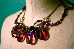 Violet Mists Necklace