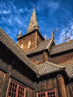 #Lom Stave #Church, #Norway, Jack Nichols