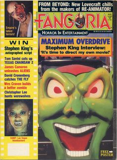 """That's not James Franco! Stephen King directs his own stories in """"Maximum Overdrive,"""" where trucks ride the highway from hell. Steve proved not to be the king of the DGA, but his books continue to be WGA grist."""