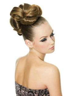 A long brown straight multi-tonal updo Party hair hairstyle by Web Collections Modern Hairstyles, Quick Hairstyles, Party Hairstyles, Latest Hairstyles, Beautiful Hairstyles, Bridal Hairstyles, Medium Hair Styles, Curly Hair Styles, Hair Creations