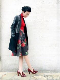 MURUA'sOvercoat using this YUKIlooks│マウジーで一目惚れしたスカート、か...