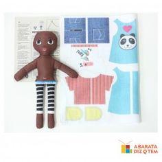 Esse é um brinquedo educativo muito criativo. A criança vai poder dar uma de estilista e começar a entender de moda, cores, combinações e estilos. A Boneca Moda Fashion vai permitir a criança escolher estampas para recortar, costurar e montar.