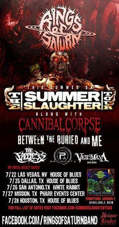Summer Slaughter Tour 2012 Death Metal/Metal.