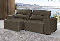 Estofados retráteis e reclináveis - Peniel, assentos retráteis e encontos reclináveis, com 2.40 mts