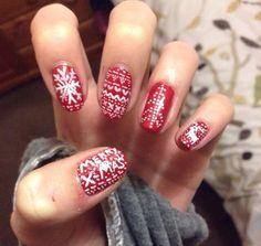 Christmas Nails:))
