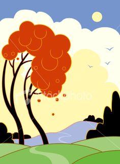 stock-illustration-4930756-art-deco-landscape.jpg (278×380)