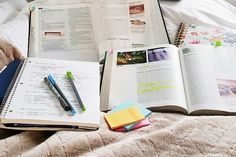 study, book, and notebook resmi