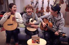 晨悠 ChenYo & 羅文裕 Wing with aNueNue M12 / S10 / MN14 Feather Bird Guitar