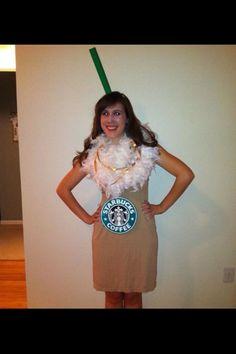 Starbucks Halloween costume! @Caitlin Tallungan We should do this!!!!! ;)