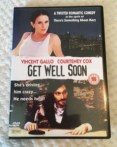 Only £1.28!! Get Well Soon DVD - Courteney Cox - Fast and Free Delivery