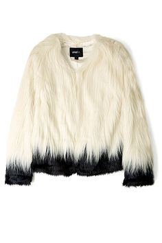 The Fur Side: Shop Coats from High to Low - Unreal Fur jacket