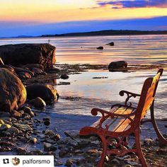 Hvilebenk. Stå på men ta pause innimellom. #reiseliv #reisetips #reiseblogger #reiseråd  #Repost @palforsmo with @repostapp  Omlidstranda  #visitvestfold #bns_world #bns_norway #bns_landscape  #photo_smiles_world #thebestofscandinavia #iamnordic #what_click #whywelovenature #norway_photolovers #natureloversgallery