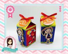 Caixa Milk - O Show da Luna