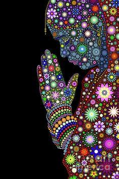 Mandala Art, Mandala Painting, Art Buddha, Dot Art Painting, Aboriginal Art, Psychedelic Art, Oeuvre D'art, Unique Art, Fine Art America