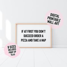 Digital Download If At First You Don't Succeed Order A   Etsy