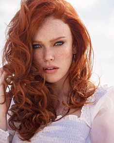 """alexandramadar: """"the only thing summer will bring me is more freckles. Red Hair Freckles, Redheads Freckles, Freckles Girl, Beautiful Freckles, Beautiful Red Hair, Beautiful Eyes, Pretty Hair, Stunning Redhead, Gorgeous Redhead"""