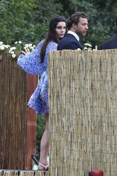 Lana del Rey at Pierre Casiraghi's religious wedding in Stresa, Italy | 1 August 2015