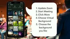 How to Set Zoom Virtual Background on Android Mobiles Fast Internet, Computer Internet, Recover Deleted Photos, Computer Companies, Watch Netflix, Epic Games, Hd Movies, Mobiles, Android