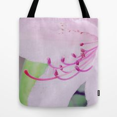 Purple rhododendron. Tote Bag by Mary Berg - $22.00  #totebags #society6 #blue #purple #lily #flower #textile #women #contemporary