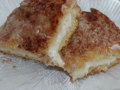 Cinnamon Cream Cheese Squares.