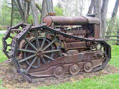 Old trackters | OLD TRACTORS, FORDSON-track, by david w. pearcy, beautiful lawns of wa ...