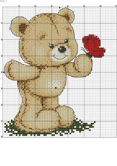 Cross Stitch Bookmarks, Cross Stitch Cards, Cross Stitch Rose, Cross Stitch Baby, Cross Stitch Kits, Cross Stitching, Cross Stitch Embroidery, Cross Stitch Patterns, Baby Motiv