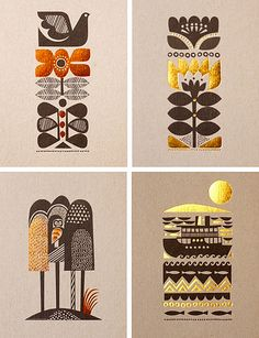 Sanna Annuka - nice designs to embroider