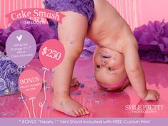 Smile Pretty Photobooths & Photography, Current First Birthday Cake Smash Special :) Based in the Fraser Coast region :)