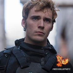 """""""District 4's former victor #FinnickOdair lands in the thick of war. #MockingjayPart2"""" Photo taken by @thehungergames on Instagram, pinned via the InstaPin iOS App! http://www.instapinapp.com (10/22/2015)"""