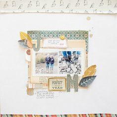 A Persimmon Page By Marcy Penner - Simon Says Stamp Blog