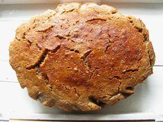 Calenndula: kváskový chléb No1